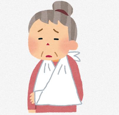 肩手症候群